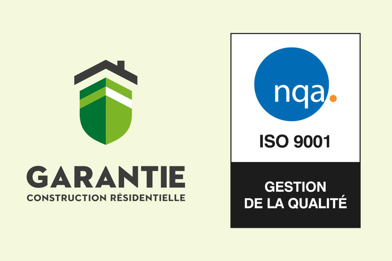 Garantie de construction résidentielle (GCR) obtient la certification ISO 9001:2015